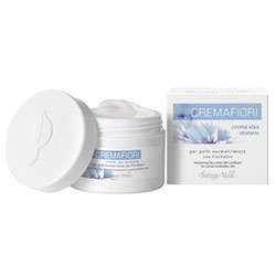 Cremafiori - Crema de fata hidratanta pentru ten normal/mixt cu Albastrele