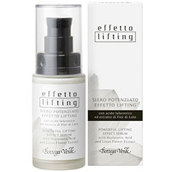 Ser lifting cu acid hialuronic si extract din flori de lotus - Effetto Lifting  (30 ML)