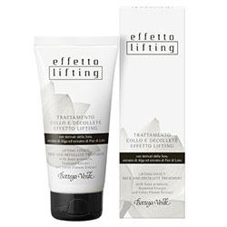 Tratament lifting pentru gat si decolteu cu derivati din soia, extract din alge si flori de lotus - Effetto Lifting  (50 ML)