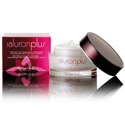 Acid hialuronic - Crema de fata, efect filler, cu acid hialuronic si extract din flori albe, SPF15