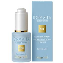 IDRAVITA - Ser elasticizant si nutritiv - cu Vitamina E si complex de uleiuri vegetale  (30 ML)