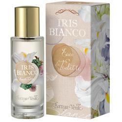 Apa de toaleta cu aroma de iris - Iris bianco  (30 ML)