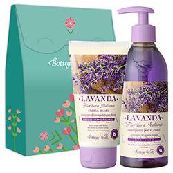 Set cadou - Crema de maini si sapun lichid cu extract de lavanda italiana