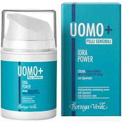 UOMO + Hydra Power - Crema hidratanta protectoare cu Lipomoist - pentru piele sensibila