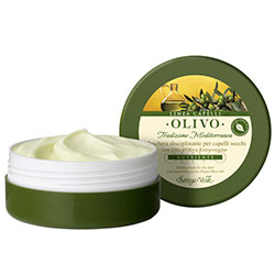 Masline - Masca pentru par uscat, cu ulei de masline extravirgin   (125 ML)