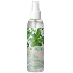 Parfum deodorant cu aroma de menta