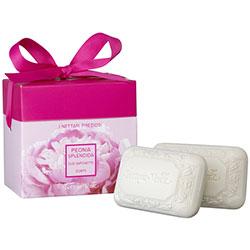 Set cadou - Bujor - sapun 2 bucati