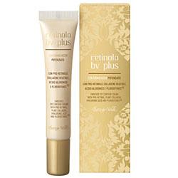 Crema pentru zona din jurul ochilor cu pro-retinol, colagen vegetal, acid hialuronic si Pluridefence - Retinolo Bv Plus  (15 ML)