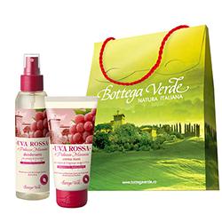 Pachet Special Dragobete - Crema de maini si parfum deodorant cu extract de struguri rosii