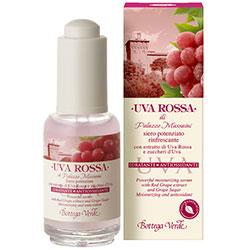 Struguri rosii - Ser concentrat cu extract din Struguri Rosii si zaharuri din Struguri - hidratant antioxidant   (30 ML)