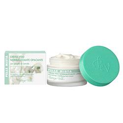 Ten Mixt - Crema de fata normalizanta, matifianta, cu extract de castravete   (50 ML)