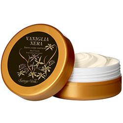 Vanilie neagra - Unt de corp hranitor   (125 ML)