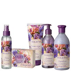 Set cadou - Special Mix Violete - Violetta  (400 ML + 200 ML + 250 ML + 125 ML + 150 G)