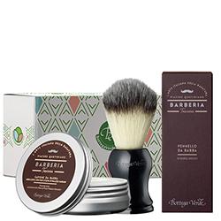 Set pentru barbierit cu ulei de masline
