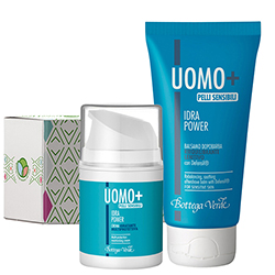 Set ingrijire ten Idra Power  - Uomo+  (50 ML + 75 ML)
