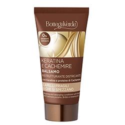Travel size - Balsam cu keratina si proteine de casmir - Keratina e Cachemire, 40 ML