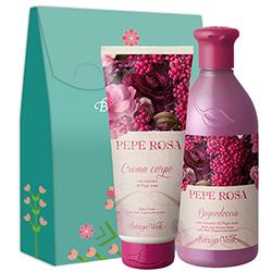 Set hidratare corp cu extract de piper roz - Pepe Rosa, 400 ML + 200 ML
