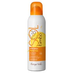 Lapte spray pentru copii, cu aloe vera si vitamina E - waterproof - Sol Bimbo, 150 ML