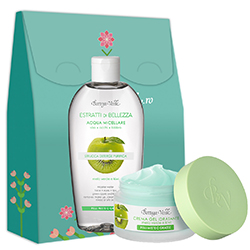 Set hidratare ten cu mar si kiwi - Estratti di Bellezza, 50 ML + 200 ML