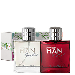 Set parfum si after shave Spicy Red - Man  (50 ML + 50 ML)