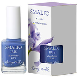 Lac de unghii parfumat, cu aroma de iris, lila - Smalto, 10 ML
