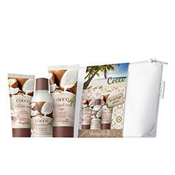 Set 3 mini produse cu aroma de cocos