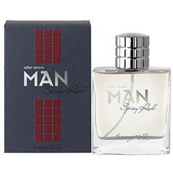 After shave Spicy red
