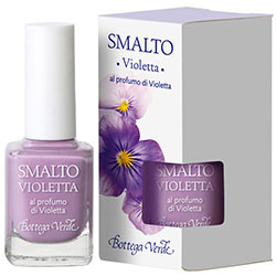 Lac de unghii parfumat cu aroma de violete, liliac