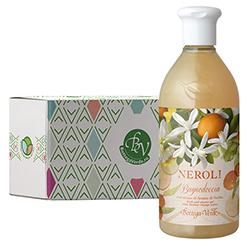 Gel de dus cu aroma de flori de portocal in cutie cadou