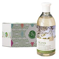 Gel de dus cu ulei de masline in cutie cadou - Olivo, 400 ML