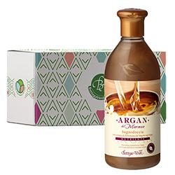 Gel de dus cu extract de iasomie din desert si ulei de argan in cutie cadou - Argan del Marocco, 400 ML