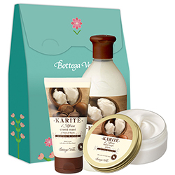 Set Unt Shea - Karitè, 150 ML + 400 ML + 75 ML