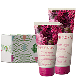 Set ingrijire cu extract de piper roz - Pepe Rosa, 200 ML + 75 ML