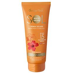 Crema pentru plaja cu ulei de hibiscus si argan - waterproof - Sol Ibisco e Argan  (200 ML)