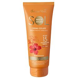 Protectie Solara - Crema pentru plaja rezistenta la apa, cu ulei de Hibiscus si Argan - SPF 15  (200 ML)