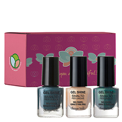 Set Emerald Gold - Gel Shine  (5 ML + 5 ML + 5 ML)