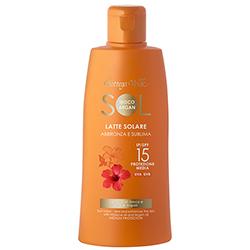 Protectie Solara - Lapte de corp pentru plaja, cu ulei de Hibiscus si Argan - SPF 15