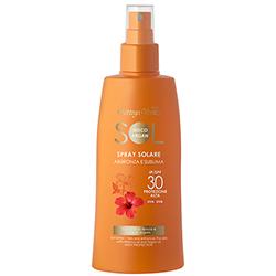 Protectie Solara - Crema spray pentru plaja, cu ulei de Hibiscus si Argan - SPF 30  (200 ML)