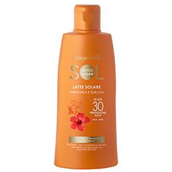 Protectie Solara - Lapte de corp pentru plaja, rezistent la apa, cu ulei de Hibiscus si Argan - SPF 30  (200 ML)