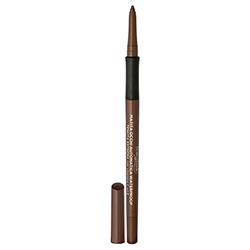 Creion de ochi waterproof, retractabil, cu vitamina C si E, maro mediu