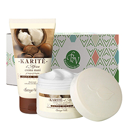 Set unt de Shea mix - Karitè, 50 ML + 75 ML