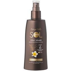 Spray pentru plaja pentru un bronz aprins, cu ulei de nuci braziliene si extract de maracuja - waterproof - Sol Tropical  (200 ML)