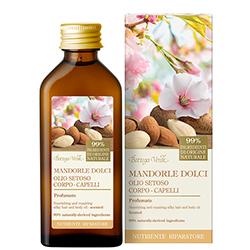 Ulei parfumat de migdale dulci pentru corp si par - Mandorle  (100 ML)