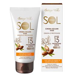 Crema de fata pentru plaja cu ulei de argan si acid hialuronic - Sol Argan, 50 ML