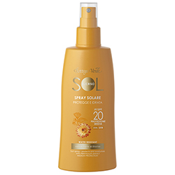 Protectie Solara - Crema spray pentru plaja, rezistent la apa, cu extract de Helichrysum - SPF20   (200 ML)