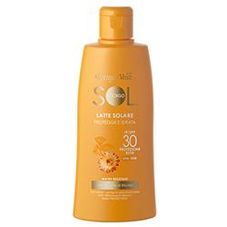 Protectie Solara - Lapte de corp hidratant pentru plaja, rezistent la apa, cu extract de Helichrysum - SPF 30  (200 ML)