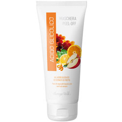 Masca peel-off cu acid glicolic si extract de fructe