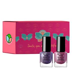 Set color nails, 5 ML + 5 ML