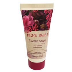 Crema de corp cu extract de piper roz