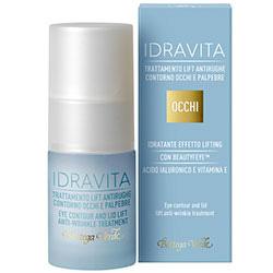 Tratament antirid pentru zona din jurul ochilor si a pleoapelor, efect lifting cu Beautyfeye®, acid hialuronic si vitamina E - Idravita, 15 ML